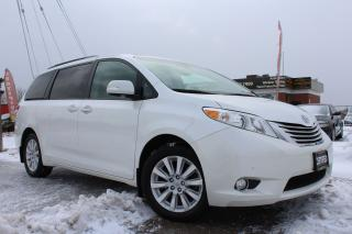 Used 2014 Toyota Sienna Limited-NAVI|DVD|BSPOT|BACKUP CAM|CLEAN CARFAX for sale in Oakville, ON