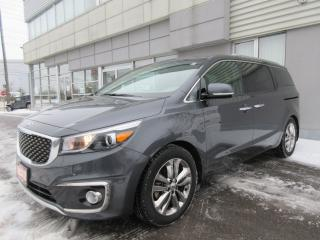 Used 2017 Kia Sedona SXL for sale in Mississauga, ON