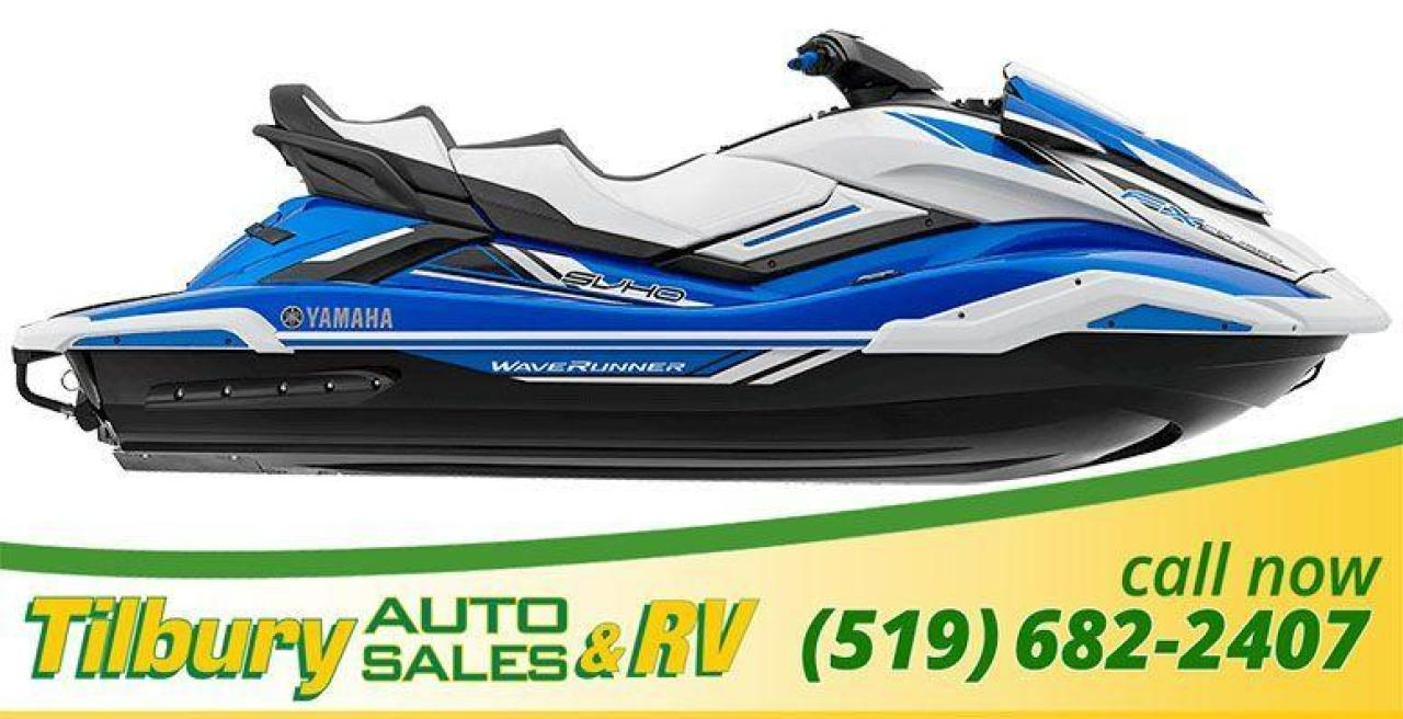 2019 Yamaha FX CRUISER SVHO Supercharged 4-cylinder, 4-stroke, Super Vortex