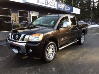 Used 2013 Nissan Titan SL Crew Cab for sale in Parksville, BC
