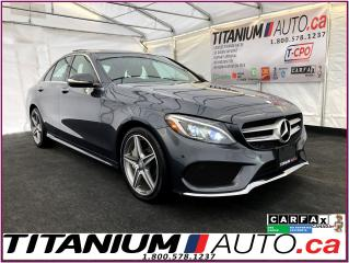 Used 2015 Mercedes-Benz C-Class AMG PKG.-4Matic-GPS-Camera-Pano-Blind Spot-Park Se for sale in London, ON