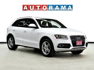 Used 2016 Audi Q5 SLINE BACK UP CAM LEATHER PAN SUNROOF NAVI AWD for sale in Toronto, ON