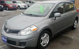 Used 2012 Nissan Versa 1.8 S for sale in Hamilton, ON