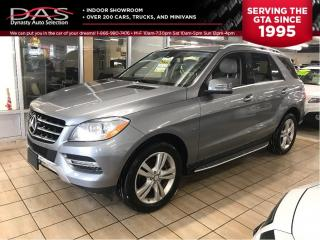 Used 2012 Mercedes-Benz ML-Class ML 350 BlueTEC NAVIGATION/REAR VIEW CAMERA for sale in North York, ON