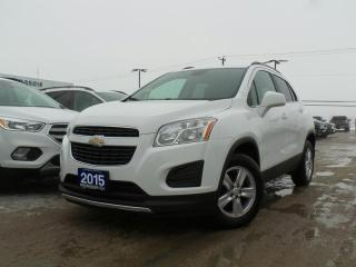 Used 2015 Chevrolet Trax LT 1.4L I4 REVERSE CAMERA for sale in Midland, ON