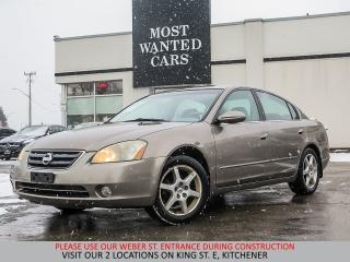 Used 2004 Nissan Altima YOU CERTIFY YOU SAVE for sale in Kitchener, ON