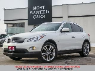 Used 2015 Infiniti QX50 AWD | NAVIGATION | SUNROOF | 360 CAMERA for sale in Kitchener, ON