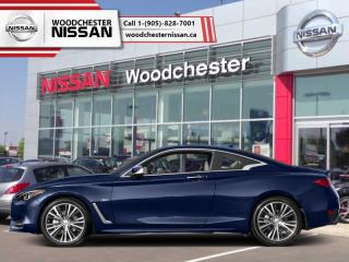 New 2019 Infiniti Q60 3.0t LUXE AWD  - Navigation - $387.45 B/W for sale in Mississauga, ON