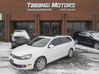 Used 2013 Volkswagen Golf Wagon HIGHLINE |NO ACCIDENT | LEATHER | SUNROOF | B\T for sale in Mississauga, ON