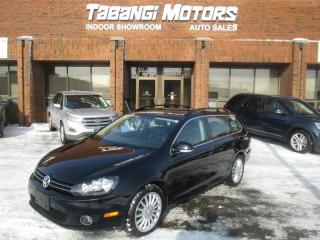 Used 2012 Volkswagen Golf Wagon HIGHLINE |NO ACCIDENT | LEATHER | SUNROOF | B\T for sale in Mississauga, ON