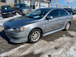 Used 2012 Mitsubishi Lancer 4dr Sdn SE FWD, low km's, no accidents for sale in Halton Hills, ON