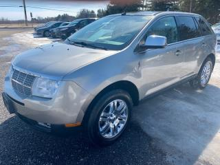 Used 2008 Lincoln MKX AWD 4dr, leather, pano roof for sale in Halton Hills, ON