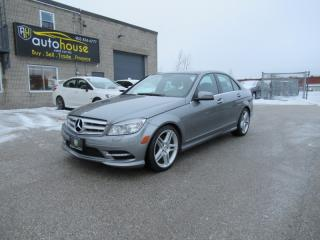Used 2011 Mercedes-Benz C-Class 4MATIC,AWD,NAVI,BACKUP CAMERA,PAN SUNROOF,LEATHER,PUSH START for sale in Newmarket, ON