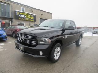 Used 2014 RAM 1500 5.7 SPORT BIG HORN ,4WD,NAVI,BACKUP CAMERA,LEATHER SEATS for sale in Newmarket, ON