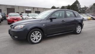 Used 2008 Mazda MAZDA3 2.3L GT AUTOMATIC ALLOYS CERTIFIED 2 YR WARRANTY HATCHBACK for sale in Milton, ON