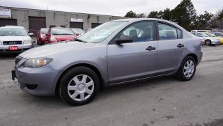 Used 2006 Mazda MAZDA3 2.0 S Sedan Automatic Certified 2Yr Warranty *No Accident* for sale in Milton, ON
