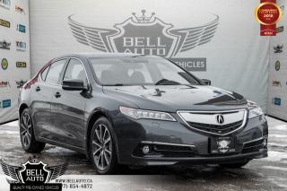 Used 2015 Acura TLX V6 Elite, NAVI W/ MEMORY, BACK-UP CAM, LEATHER, MOONROOF for sale in Toronto, ON