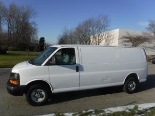 Used 2013 Chevrolet Express 2500 Extended Cargo Van with Bulkhead Divider for sale in Burnaby, BC