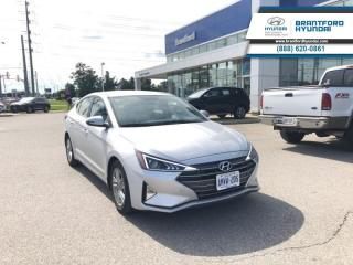New 2019 Hyundai Elantra Preferred w/sun and safety pkg for sale in Brantford, ON