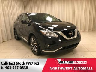 Used 2017 Nissan Murano Platinum AWD for sale in Calgary, AB