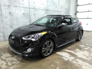 Used 2016 Hyundai Veloster 1.6turbo, Gps for sale in Lévis, QC
