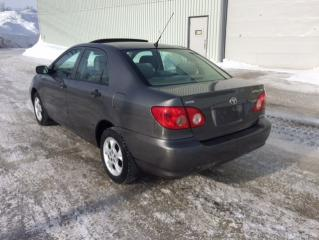 Used 2005 Toyota Corolla 4dr Sdn CE Manual for sale in Quebec, QC