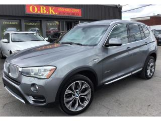 Used 2015 BMW X3 Xdrive28d-Premium for sale in Laval, QC