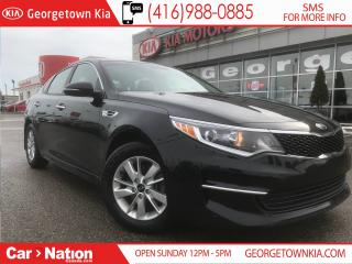 Used 2017 Kia Optima LX+HTD STEERING/SEATS  ALLOYS  BLUETOOTH  WARRANTY for sale in Georgetown, ON