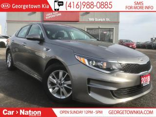 Used 2018 Kia Optima LX HEATED SEATS| ALLOYS| BLUETOOTH| WARRANTY for sale in Georgetown, ON