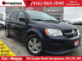 Used 2013 Dodge Grand Caravan SE/SXT | CAPTAINS | ALLOYS | BLUETOOTH for sale in Georgetown, ON