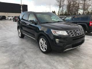 Used 2016 Ford Explorer LTD AWD CUIR TOIT for sale in St-Constant, QC