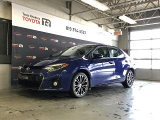 Used 2016 Toyota Corolla #* S * Toit - Caméra - Sièges chauff. for sale in Trois-Rivières, QC