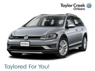 New 2019 Volkswagen Golf Alltrack 1.8T Execline 6sp 4MOTION for sale in Orleans, ON