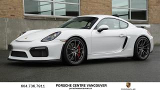 Used 2016 Porsche Cayman GT4 | PORSCHE CERTIFIED for sale in Vancouver, BC