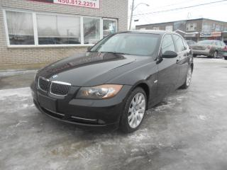 Used 2008 BMW 335i XI xDRIVE for sale in St-Hubert, QC