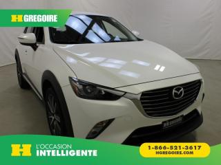 Used 2017 Mazda CX-3 GT AWD MAGS TOIT for sale in St-Léonard, QC