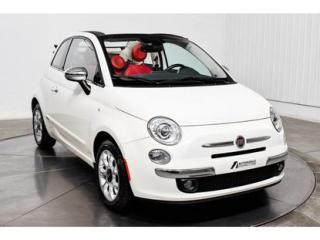 Used 2016 Fiat 500 C C Cuir Nav Mags for sale in L'ile-perrot, QC