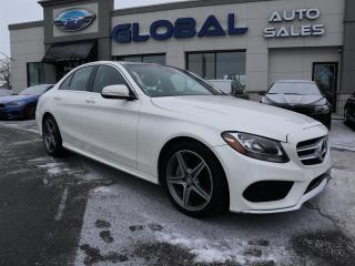 Used 2015 Mercedes-Benz C 300 4MATIC AMG SPORT PKG NAVIGATION ALL OPTIONS. for sale in Ottawa, ON