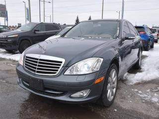Used 2007 Mercedes-Benz S-Class LEATHER 4MATIC SUNROOF NAVI PARKING SENSORS for sale in Concord, ON