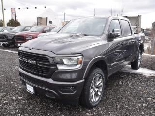 New 2019 RAM 1500 LARAMIE |LEATHER|12IN.UCONNECT|NAV|SAFETYTEC|SPORT for sale in Concord, ON