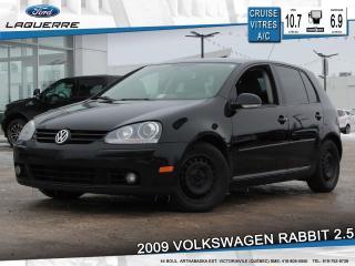 Used 2009 Volkswagen Rabbit Comfortline 2.5l for sale in Victoriaville, QC