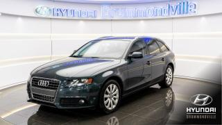 Used 2011 Audi A4 QUATTRO + 2.0T + TOIT PANO + MAGS + CUIR for sale in Drummondville, QC