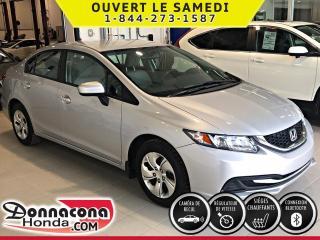 Used 2015 Honda Civic LX GARANTIE PROLONGÉE***PNEUS HIVER***CA for sale in Donnacona, QC