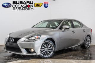 Used 2014 Lexus IS 250 Awd Cuir+toit.ouvran for sale in Boisbriand, QC