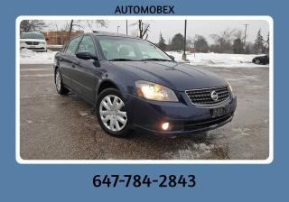 Used 2005 Nissan Altima 3.5 SE for sale in Mississauga, ON