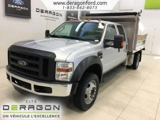 Used 2009 Ford F-550 Xl 4x4 Crew Cab for sale in Cowansville, QC