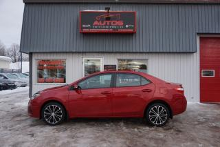 Used 2014 Toyota Corolla S Sport Cuir Toit for sale in Lévis, QC