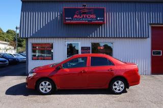 Used 2009 Toyota Corolla CE A/C for sale in Lévis, QC