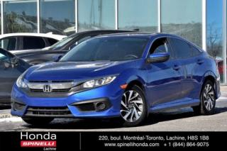 Used 2017 Honda Civic Ex Honda Sensing for sale in Lachine, QC