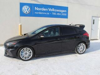 Used 2016 Ford Focus RS AWD - 350 HP 2 SETS OF TIRES/WHEELS for sale in Edmonton, AB